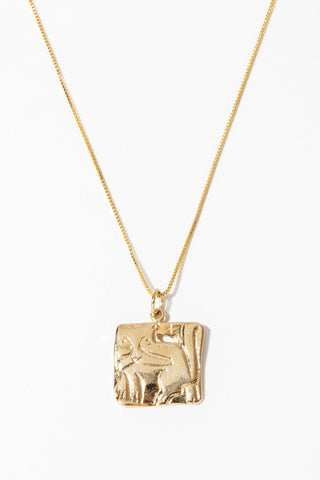 Dona Italia Jewelry Gold / 18 Inches Bastet Necklace