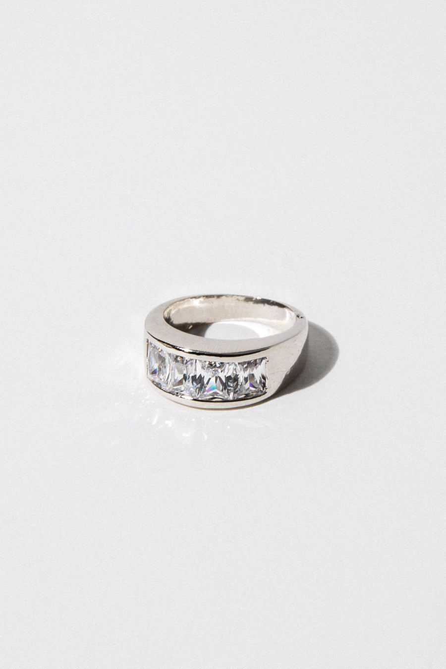 Sparrow Jewelry US 6 / Rhodium The Gaudy Ring