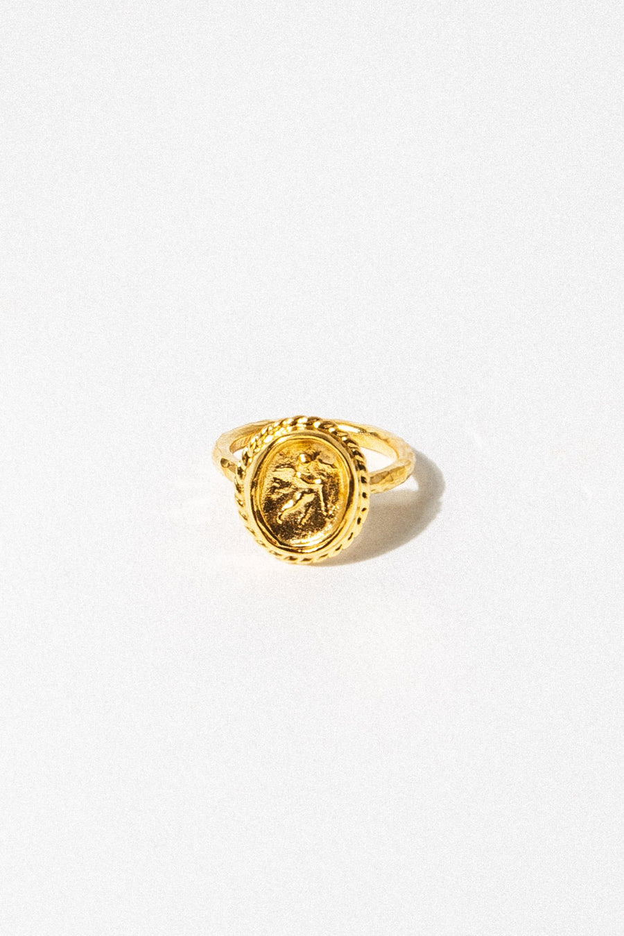 CAPRIXUS Jewelry Cupid Signet Ring