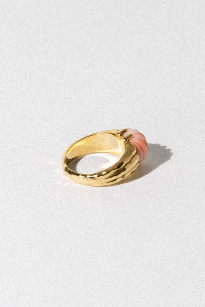 Wildthings Collectables Jewelry US 6 / Gold Dreamy Shell Pinky Ring
