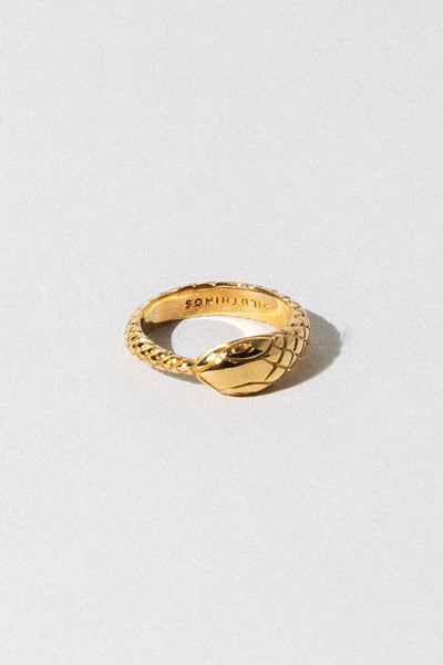 Wildthings Collectables Jewelry US 7 / Gold Snake Ring