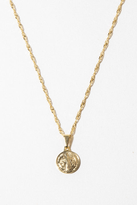 Dona Italia Jewelry Gold / 22 Inches Lil Benedict Necklace