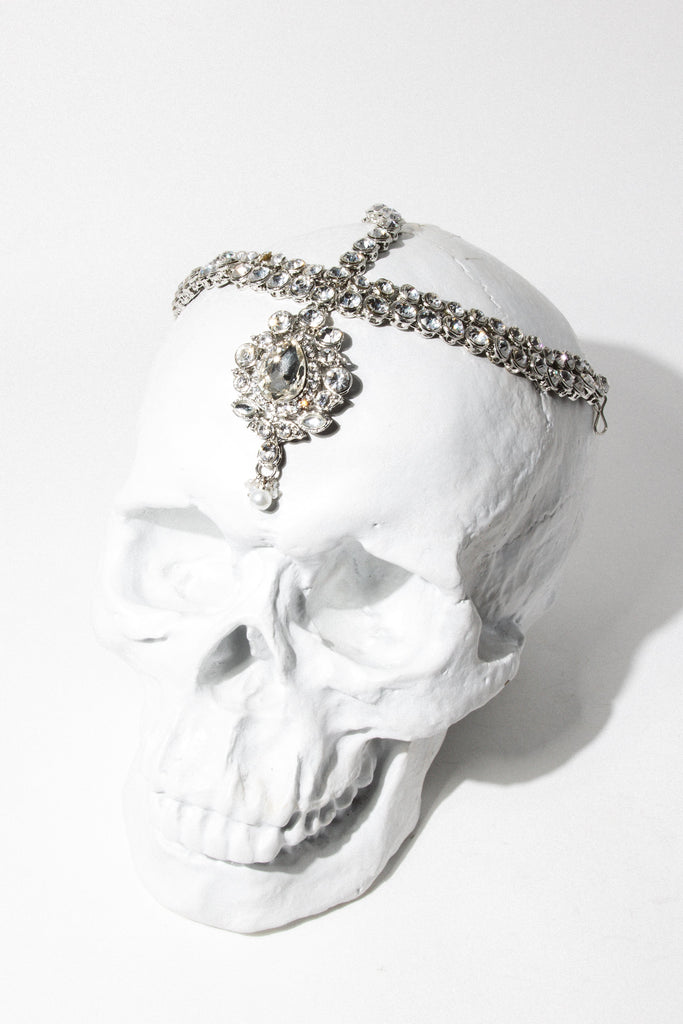 Child of Wild Jewelry Silver Narcissist Headdress