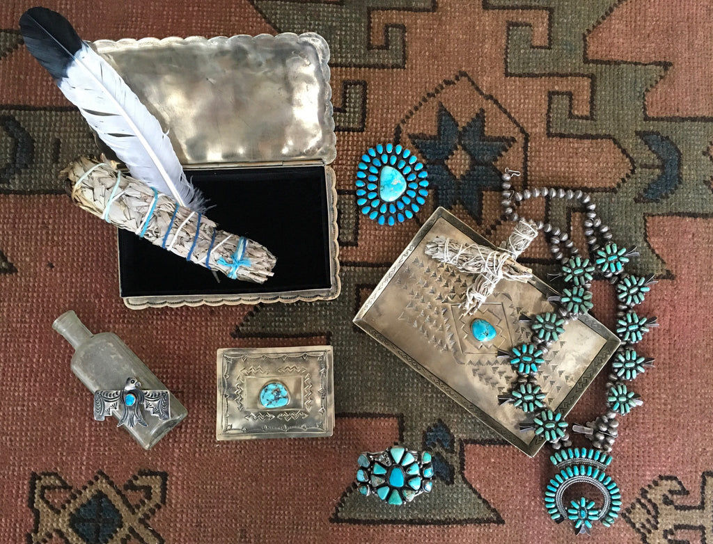 J. Alexander Objects Turquoise Keepsake Box