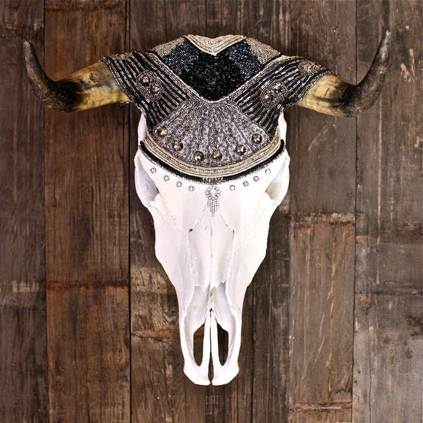 Daisy Buchanan Cow Skull - Child of Wild  - 1