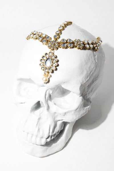 Child of Wild Jewelry Gold Devotion Bridal Headdress