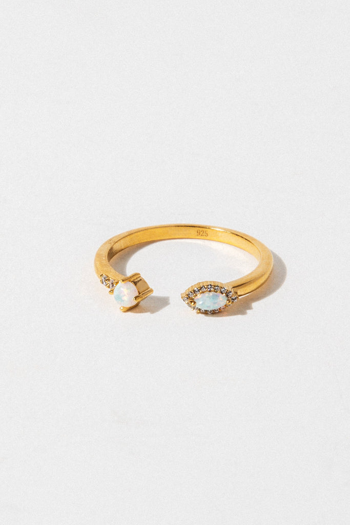LA KAISER Jewelry Open Size / Gold Bella Vie Ring