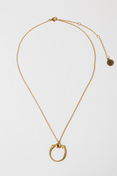 Temple of the Sun Jewelry Gold Ra Necklace