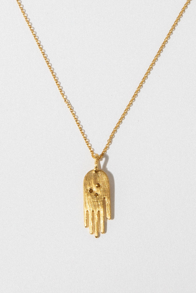 Temple of the Sun Jewelry Gold Faith Necklace
