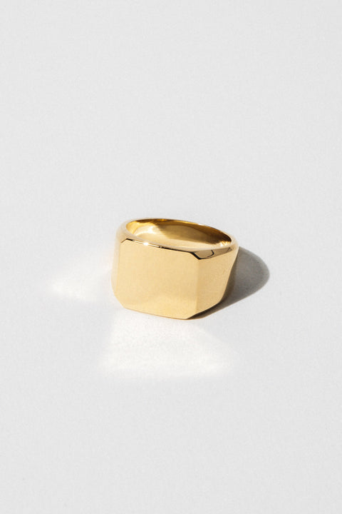 Studio Grun Jewelry Rectangle Signet Ring