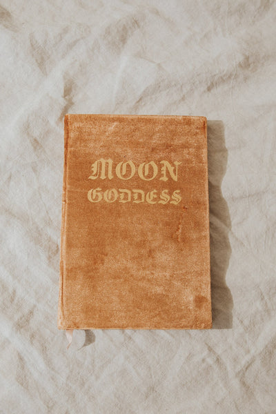 Printfresh Objects Pink / FINAL SALE Moon Goddess Journal