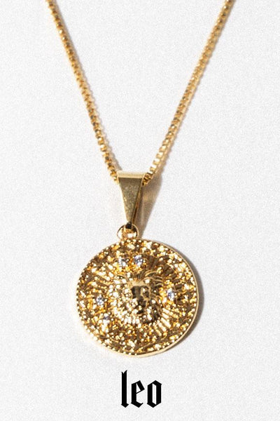 Aimvogue Jewelry Astrology Necklace