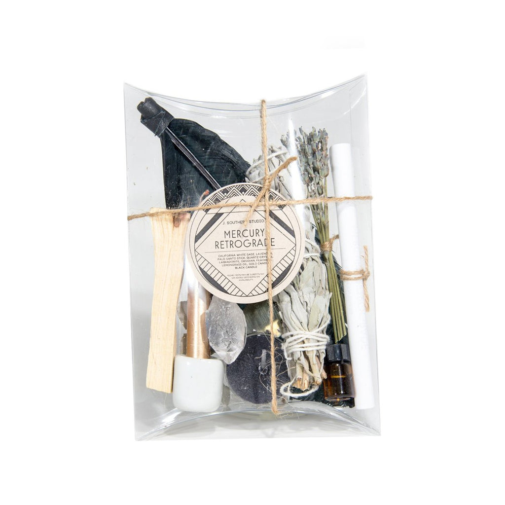J. Southern Studio Objects Mercury / FINAL SALE Mercury in Retrograde Ritual Kit