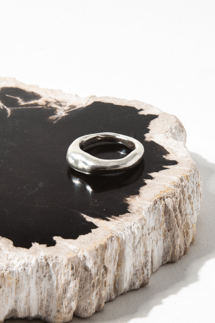 Cashmere Cactus Jewelry Creosote Ring ..Silver