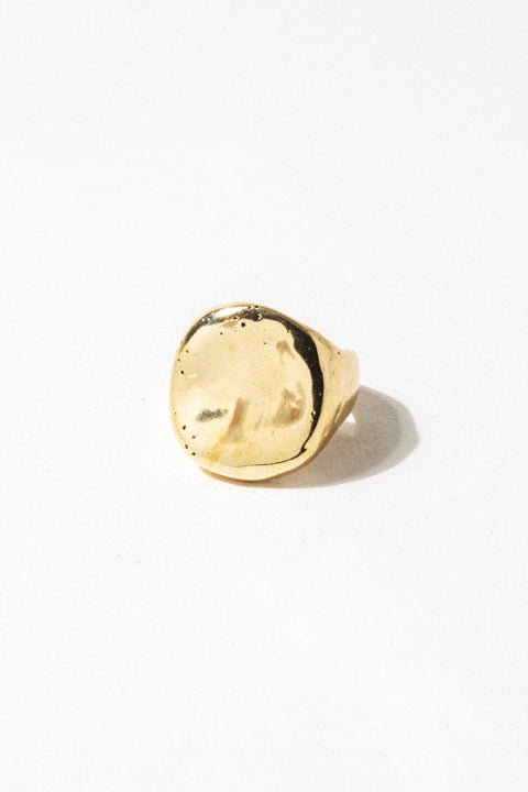 Cashmere Cactus Jewelry Surya Ring .. Brass