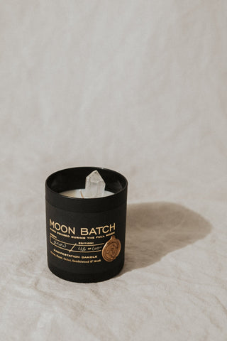 Ritual Provisions Objects Black / FINAL SALE Moon Batch Candle - Black