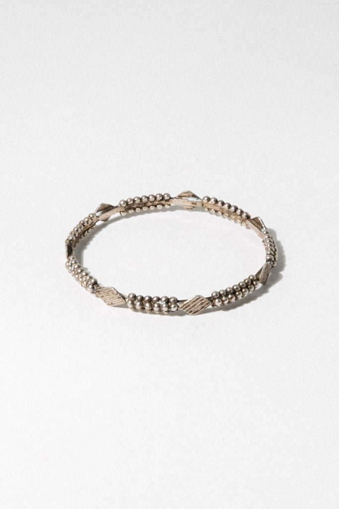 Child of Wild Jewelry Silver Tafrara Moroccan Bangle