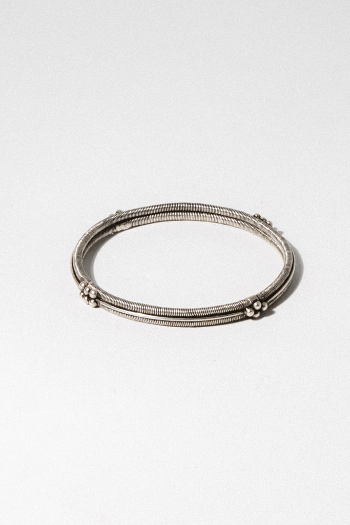 Child of Wild Jewelry Silver Sakina Moroccan Bangle