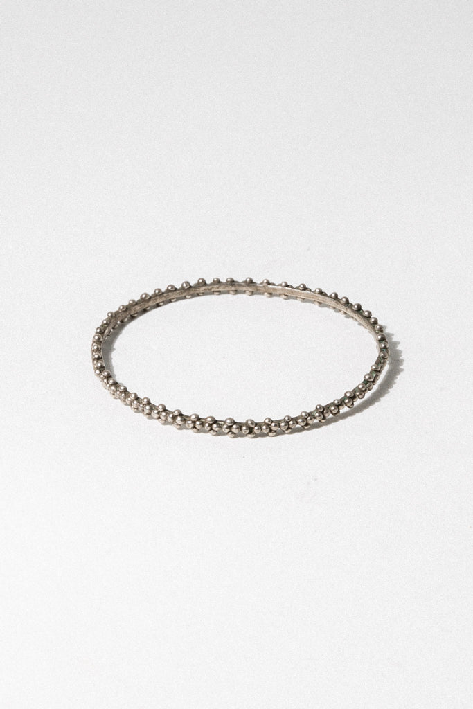 Child of Wild Jewelry Silver Safiyya Moroccan Bangle