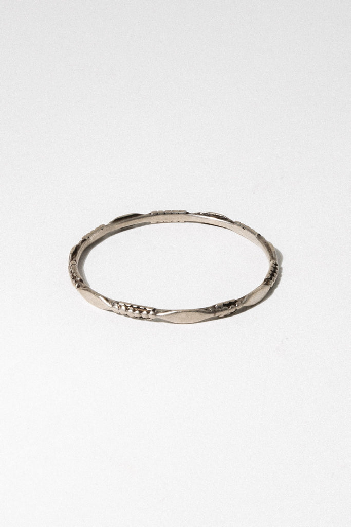 Child of Wild Jewelry Silver Telata Moroccan Bangle
