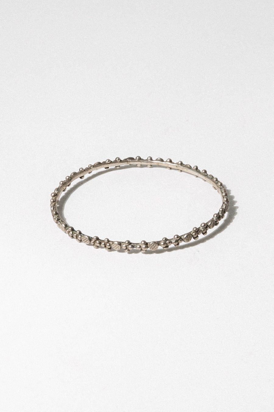 Child of Wild Jewelry Silver Tadla Moroccan Bangle