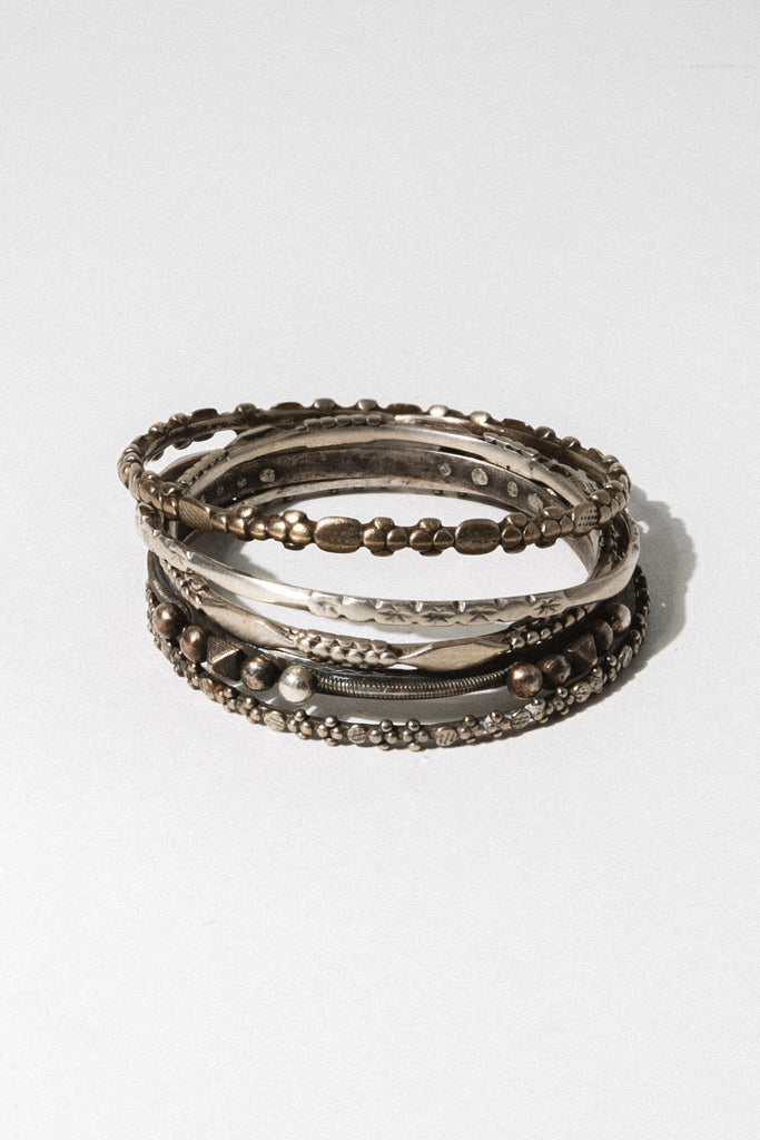 Child of Wild Jewelry Silver Afri Moroccan Bangle