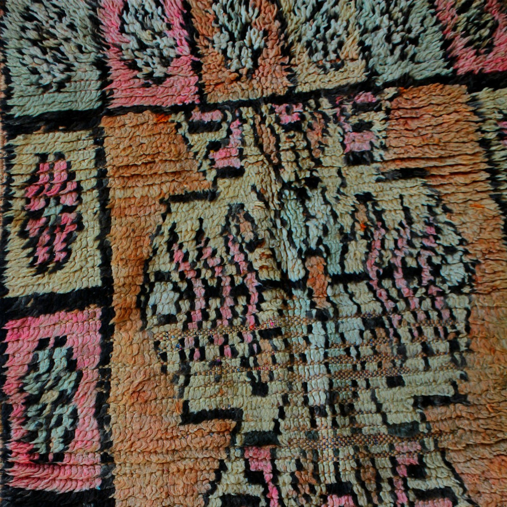 Morocco Objects Oujda Moroccan Shag Weaving
