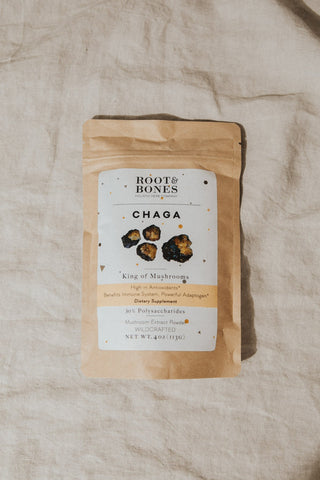 Root & Bones Objects 4 oz / Chaga / FINAL SALE Chaga Mushrooms