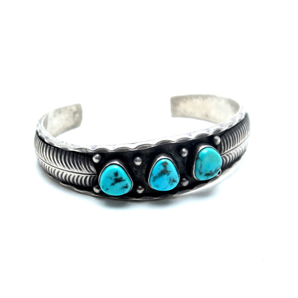 Dew Drop Vintage Native American Cuff - Child of Wild