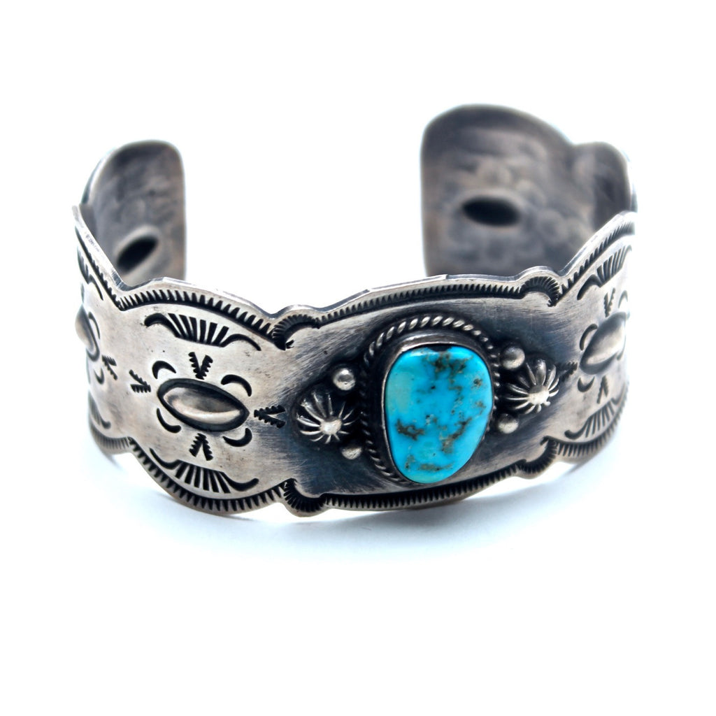 Deep Love Vintage Native American Cuff - Child of Wild