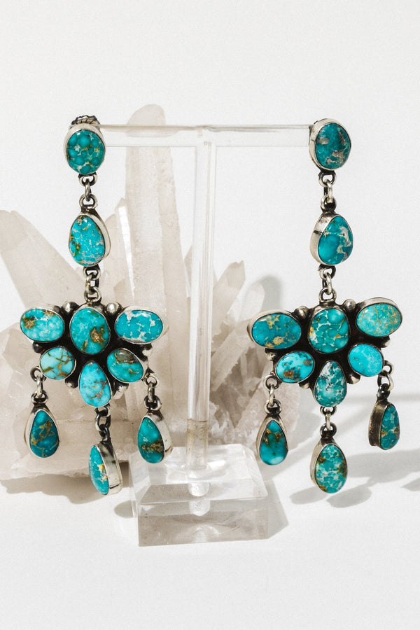 Go Your Own Way Earrings Wild Collection  Outdoor Jewelry  Turquoise Jewelry