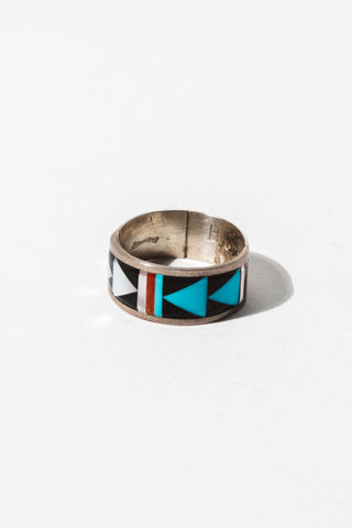 Child of Wild Mens Jewelry US 10 / Silver Vintage Zuni Arrow Ring