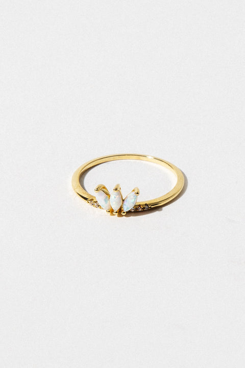 LA KAISER Jewelry Twinkling Lotus Ring