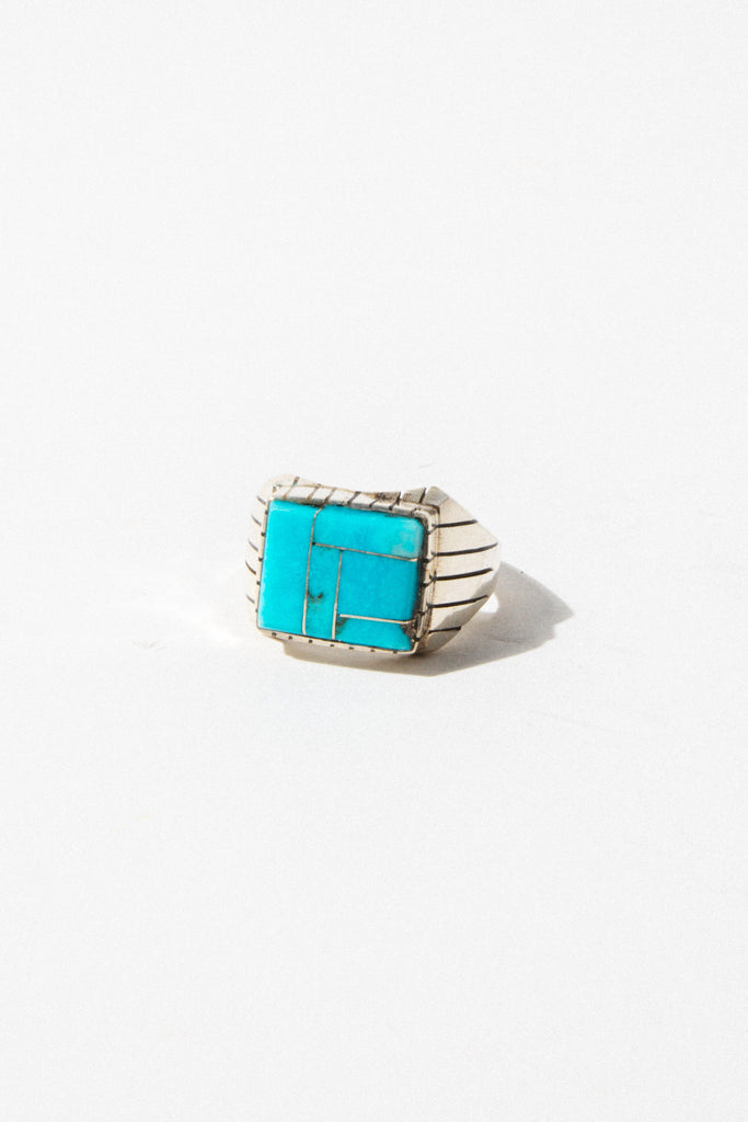 Lyra's Boyfriends Mens Jewelry Spirit Warrior Turquoise Ring