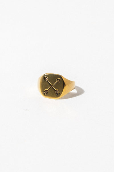 Child of Wild Mens Jewelry Arrow Ring