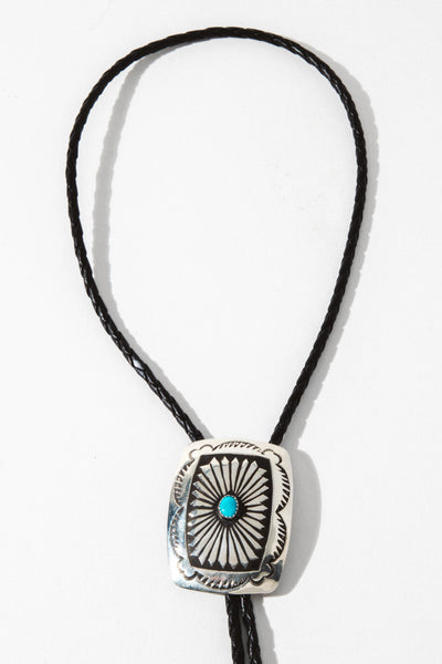 Thunderbird Jewelry Jewelry Silver Country Roads Bolo