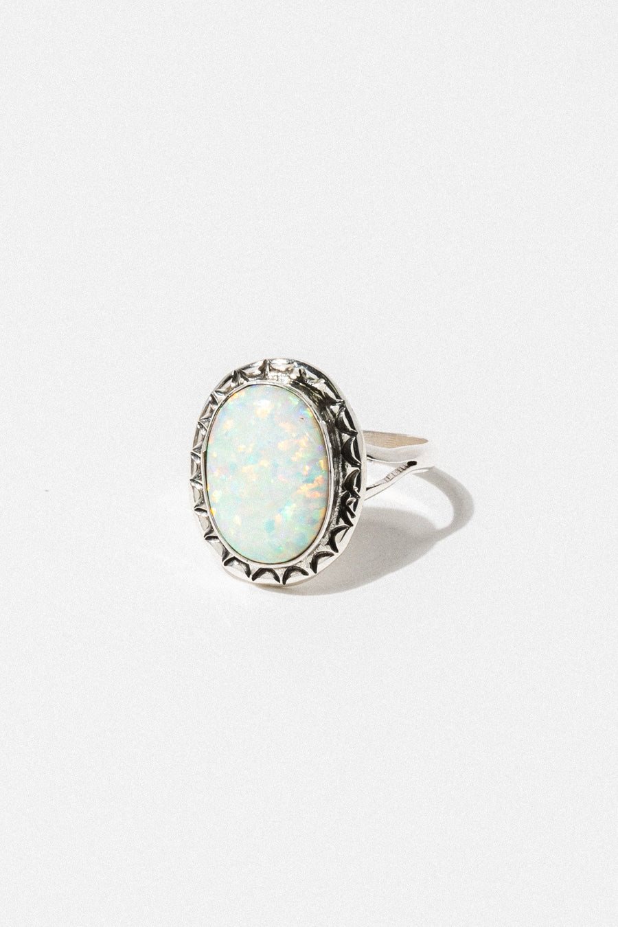 Thunderbird Jewelry Jewelry Opal / US 6 Midnight Opal Ring