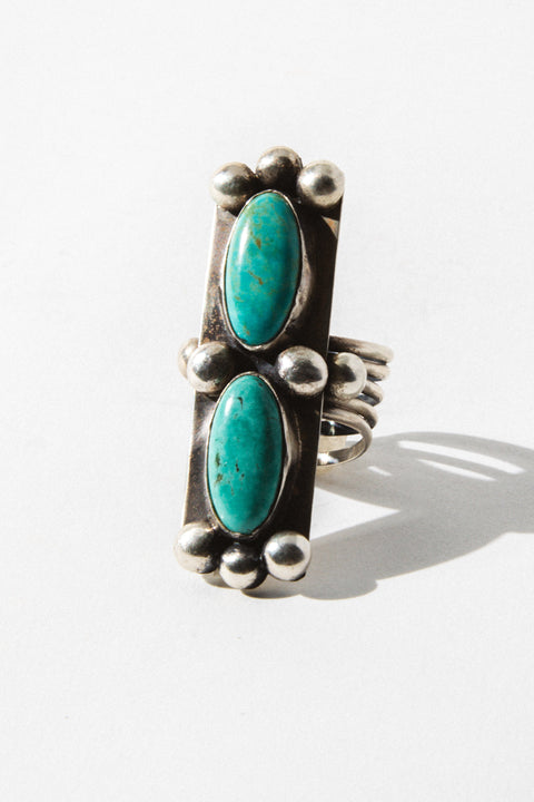 Sunwest Jewelry Empire Turquoise Ring