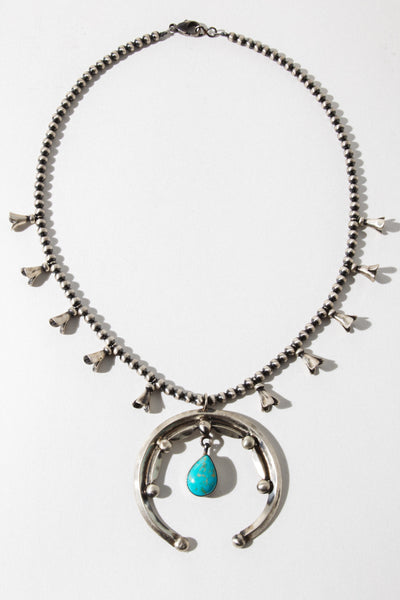 Child of Wild Keeper of Balance Squash Blossom Necklace