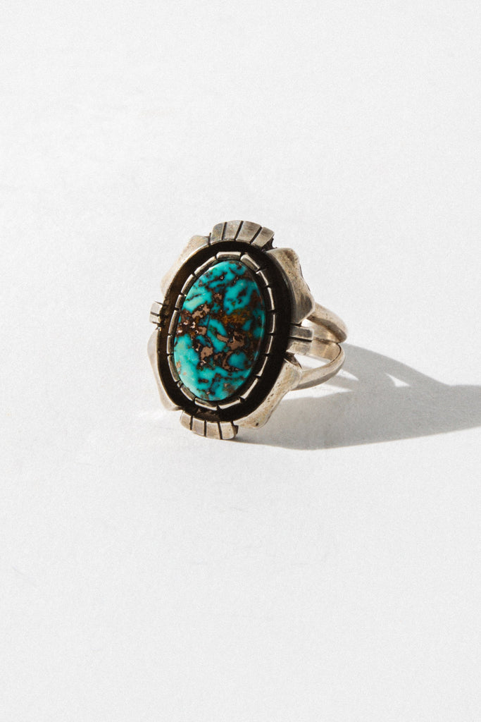 Child of Wild Jewelry River Stone Native American Ring