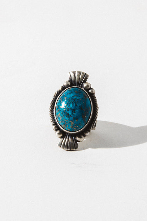 Sunwest Jewelry US 6.5 Lagoon Turquoise Ring