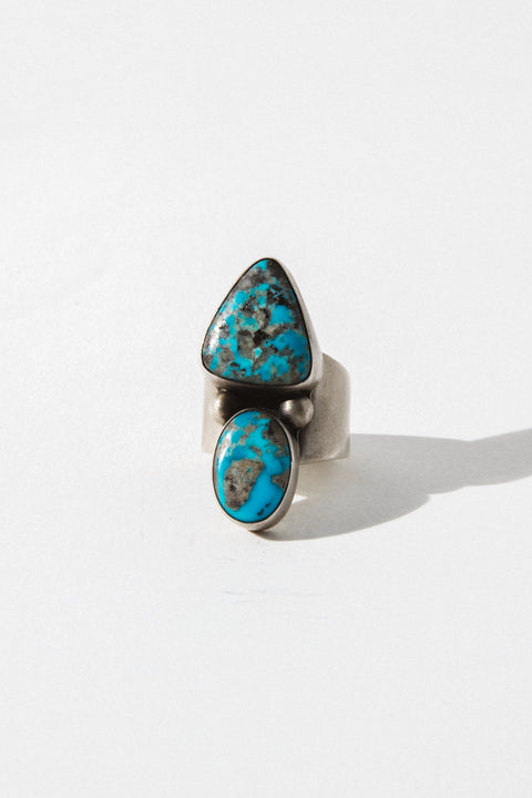Sunwest Jewelry US 6.5 / Style 3 Acid Hills Turquoise Ring