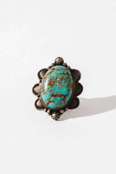 Sunwest Jewelry US 6 / Turquoise Turquoise of Heaven Native American Ring
