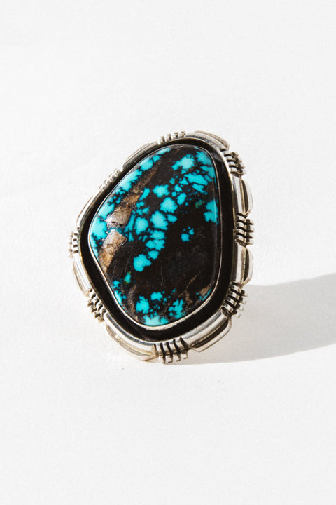Sunwest Jewelry US 7.5 Evening Star Turquoise Ring