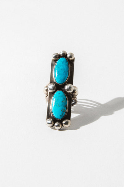 Sunwest Jewelry Blue Temple Turquoise Ring