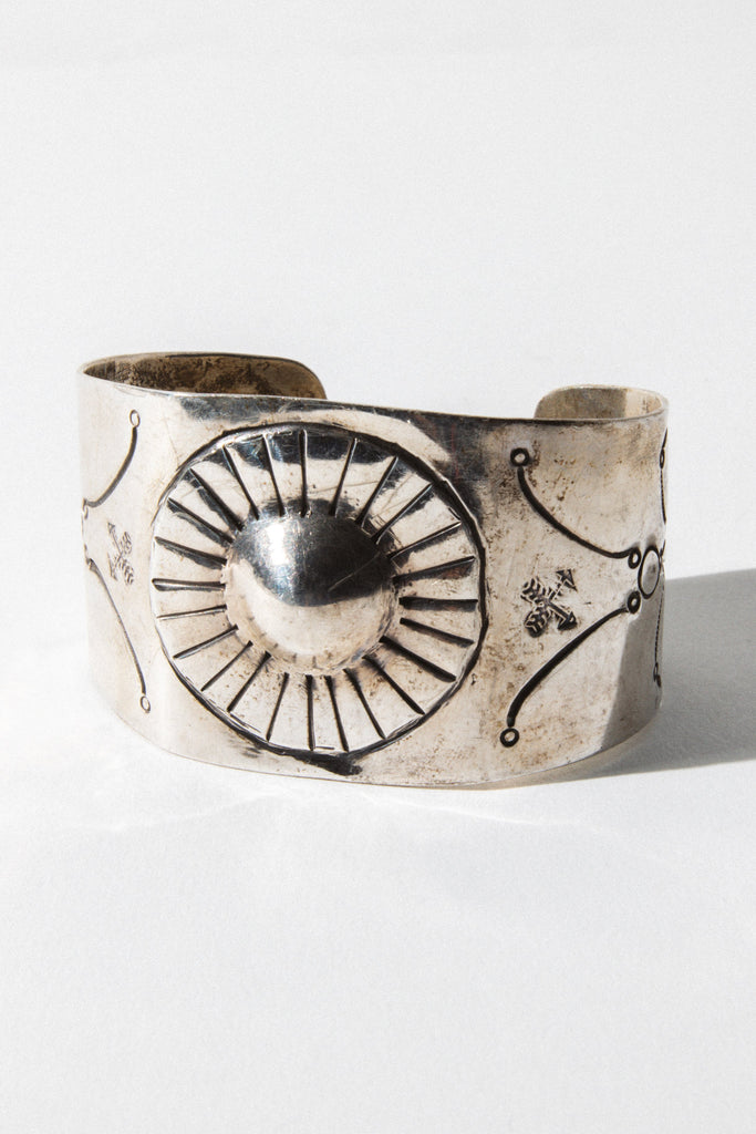 Brian's Boss Jewelry Silver Silver Springs Native American Cuff