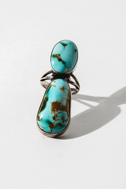 Sunwest Jewelry US 8 / Turquoise Day Keeper Native American Ring