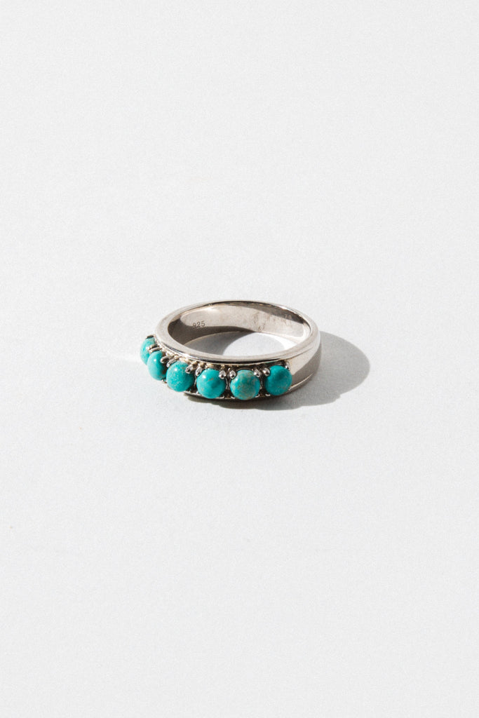 Sunwest Jewelry Silver / US 8 Ridge Mountains Native American Ring