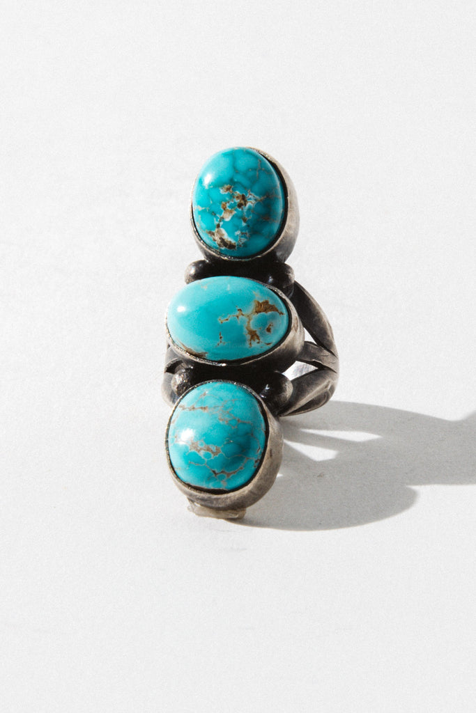 Sunwest Jewelry Silver / US 6 Canyon Sunset Native American Ring