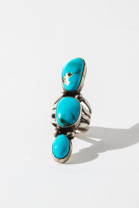Sunwest Jewelry US 5.5 Morning Sun Turquoise Ring